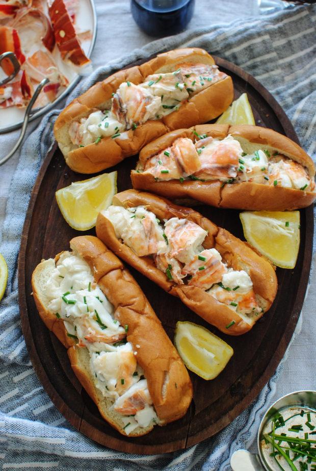 Lobster Rolls / Bev Cooks