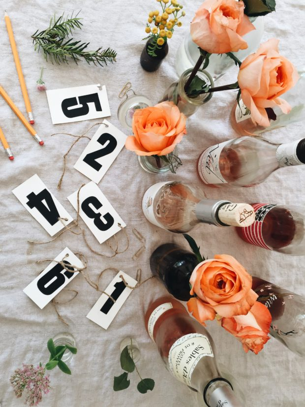 How to Host a Rosé Wine Tasting Party / Bev Cooks