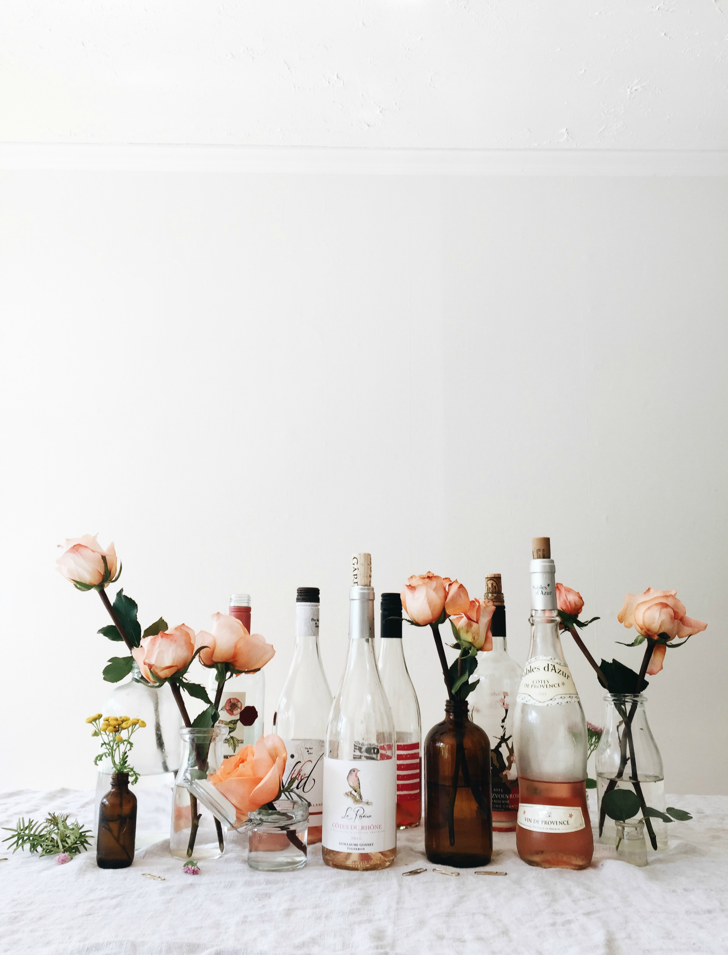 How to Host a Rosé Wine Tasting Party. | Bev Cooks