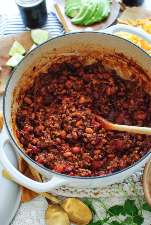 Classic Beef and Bean Chili with J.R. Watkins / Bev Cooks