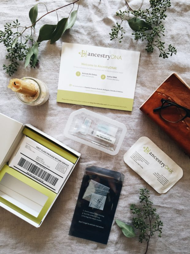 Ancestry DNA kit!