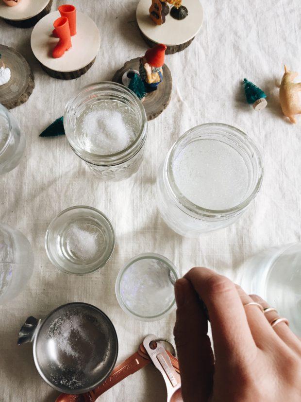 How to Make the Worst DIY Snow Globes Ever / Bev Cooks