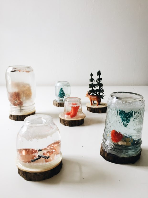 How to Make the Worst DIY Snow Globes Ever / Bev Cooks