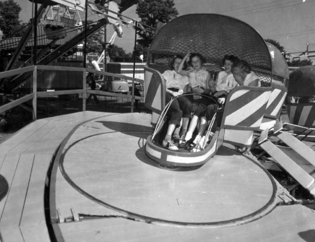 Vintage Tilt-a-Whirl
