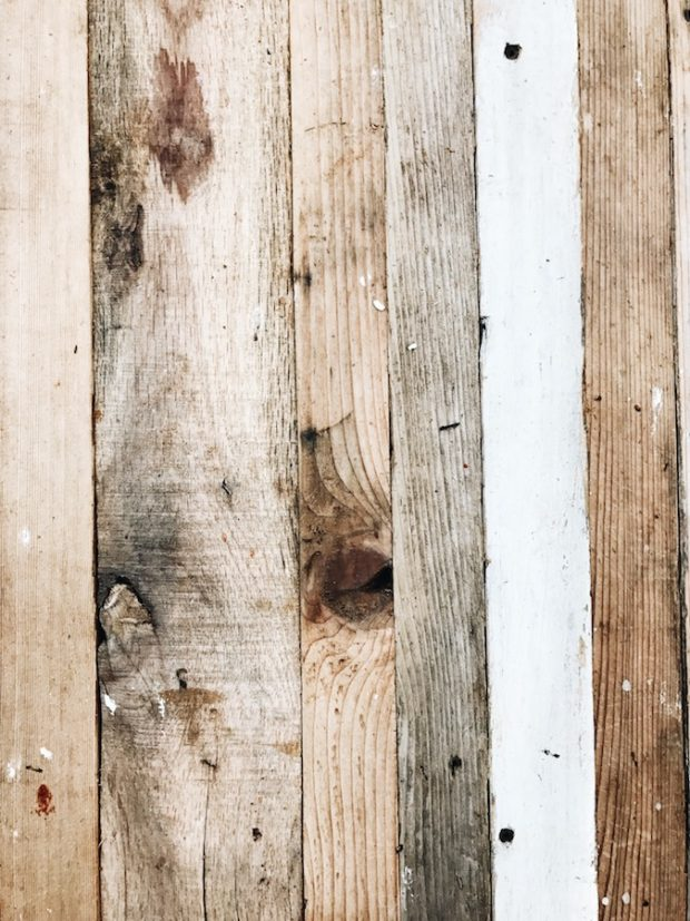Layers of wood