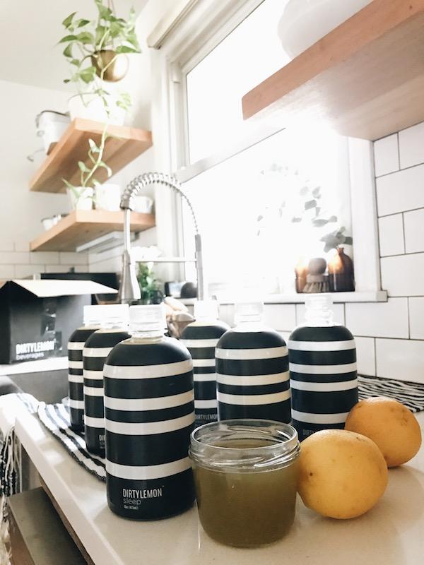 Dirty Lemon Sleep Beverage / Bev Cooks