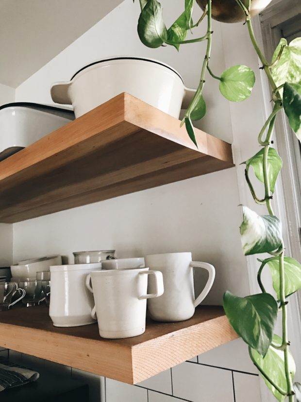 Cream Coffee Mugs