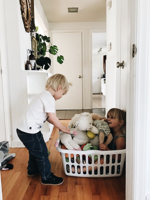 laundry babies