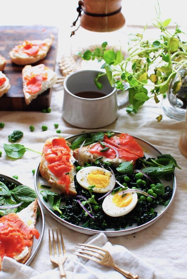Green Spring Breakfast / Bev Cooks