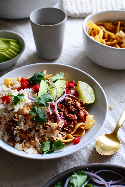 Mexican Fiesta Bowls / Bev Cooks