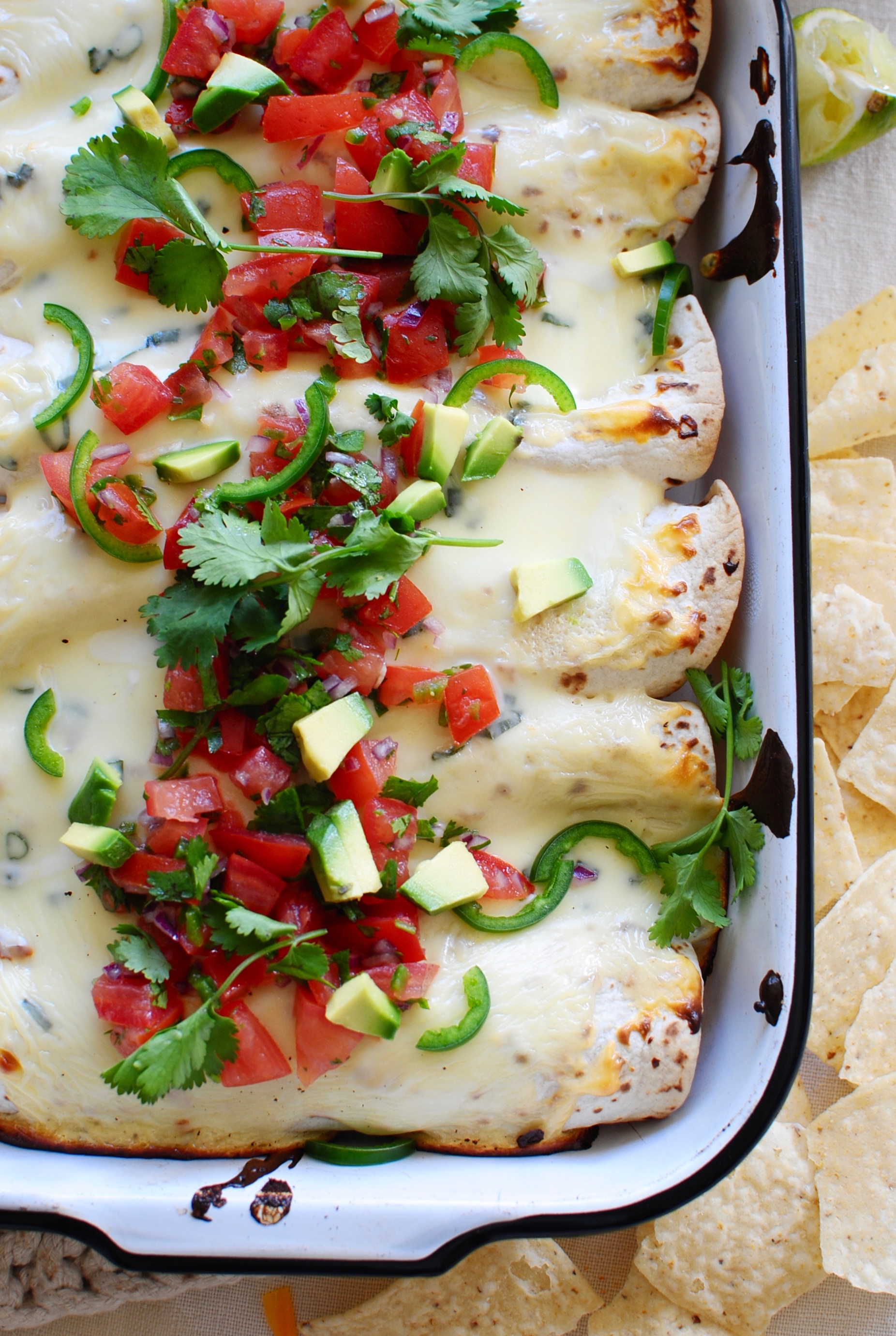 Easy Bean and Rice Burritos / Bev Cooks