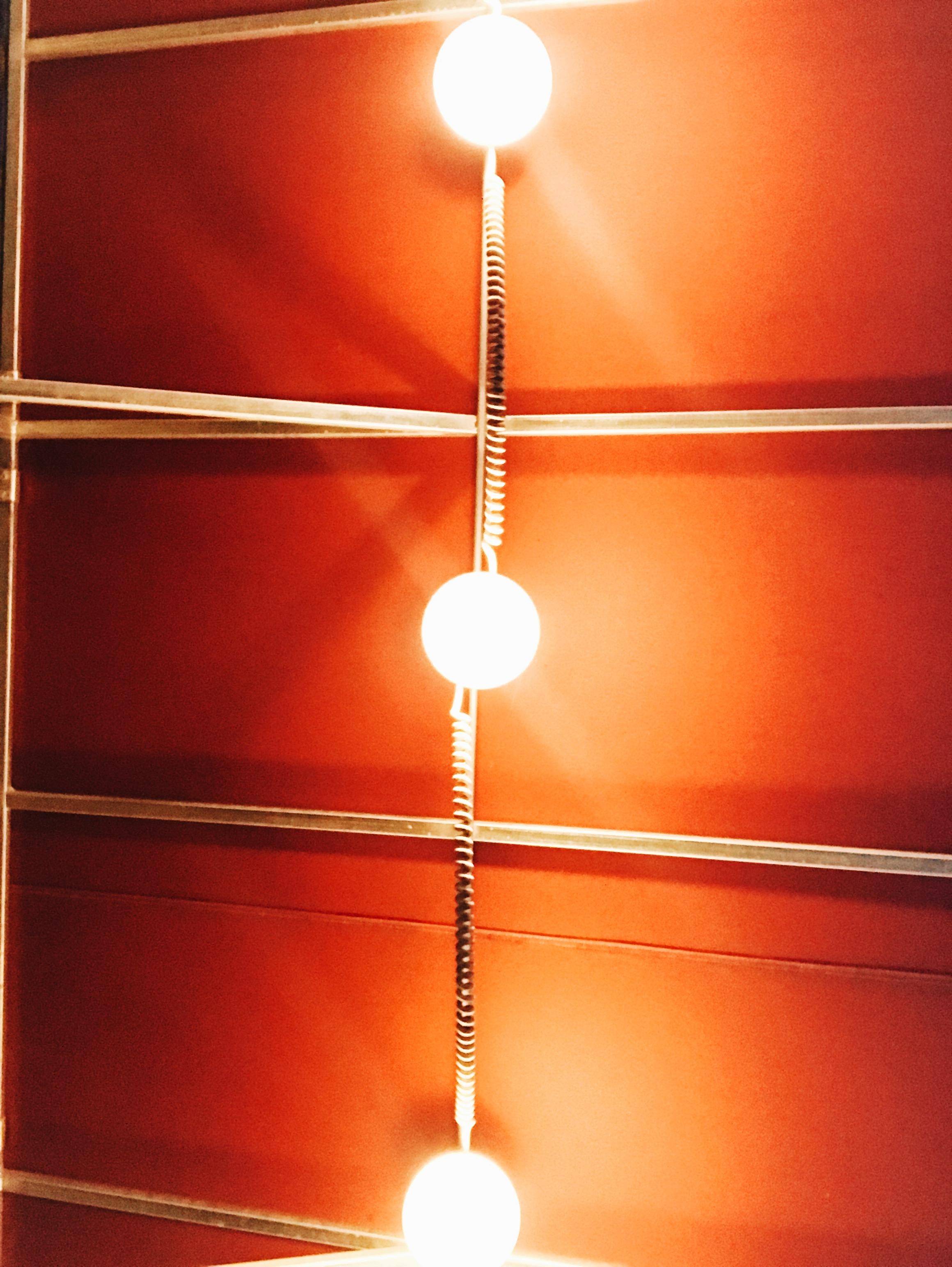 lights at Extra Virgin