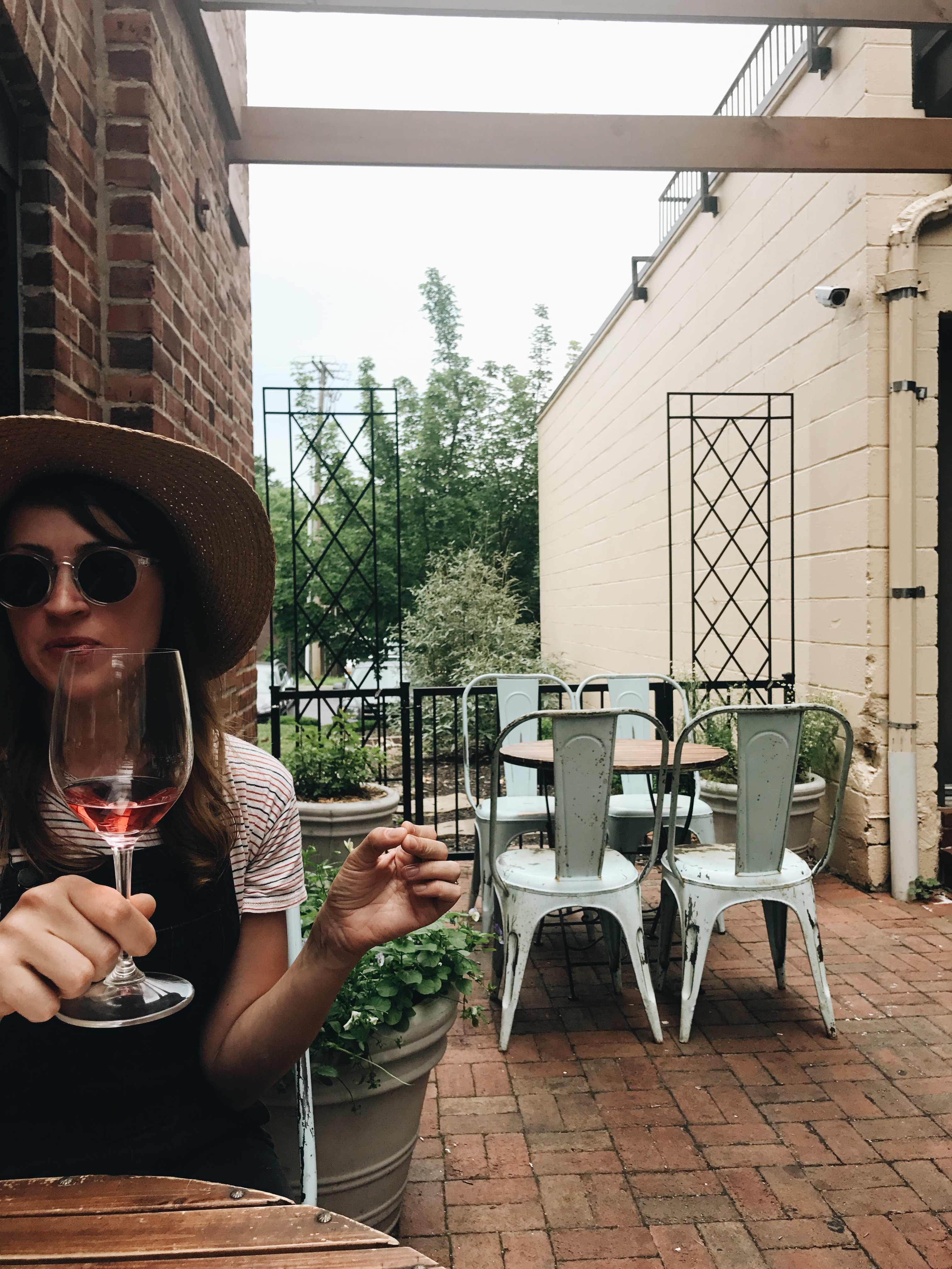 Rosés with my gal