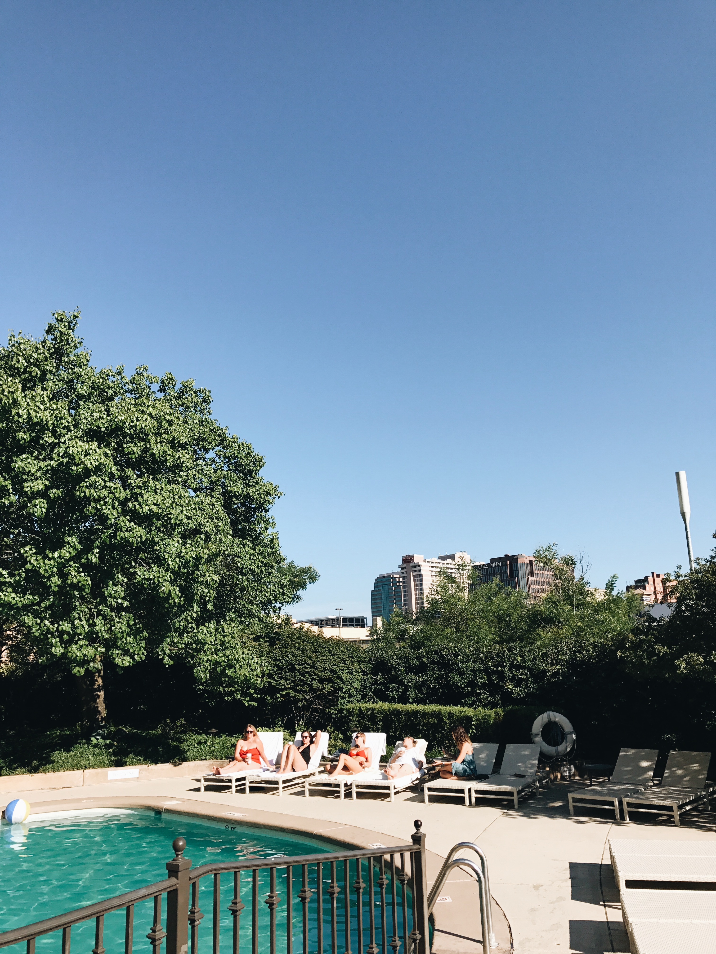 pool at Intercontinental - KC