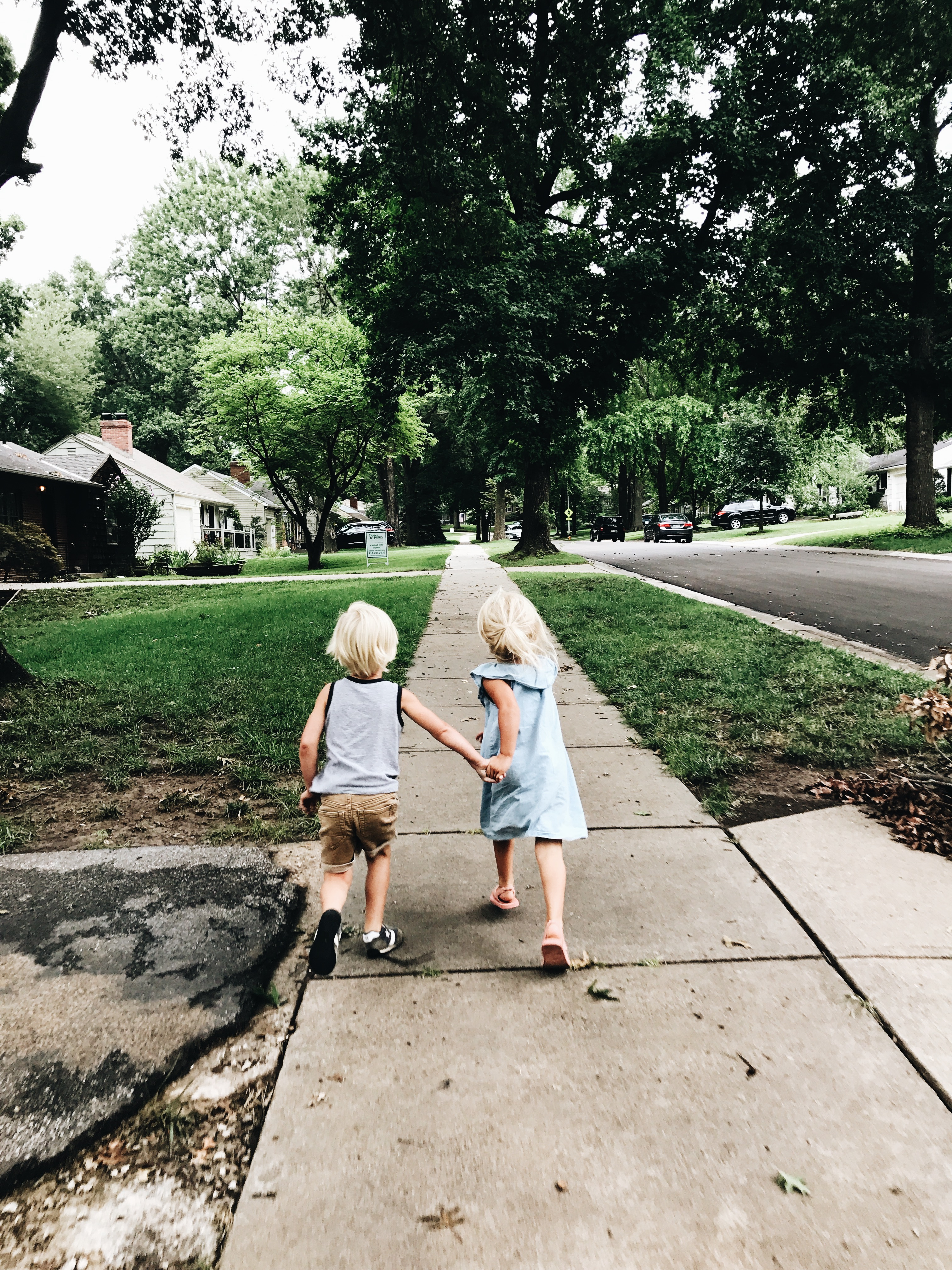 gremlins running down the street