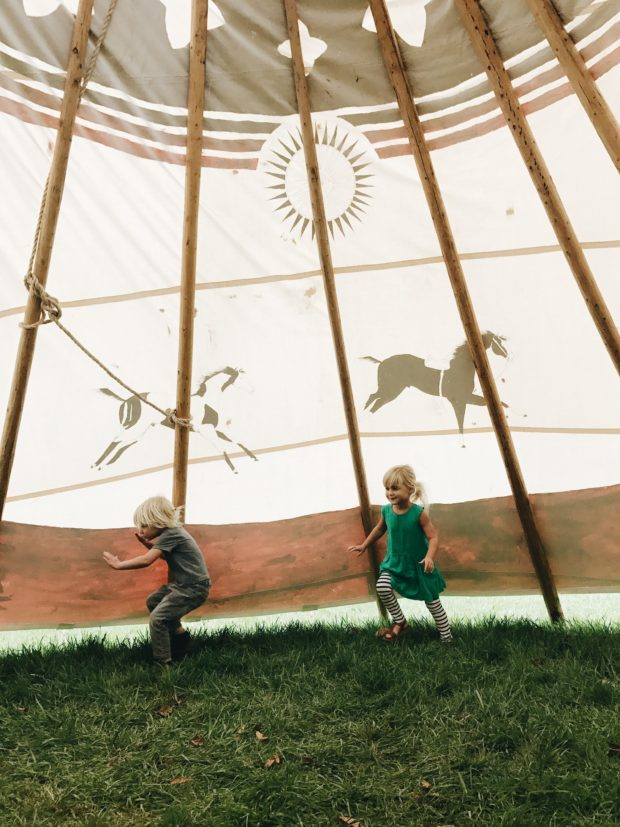 gremlins in a teepee