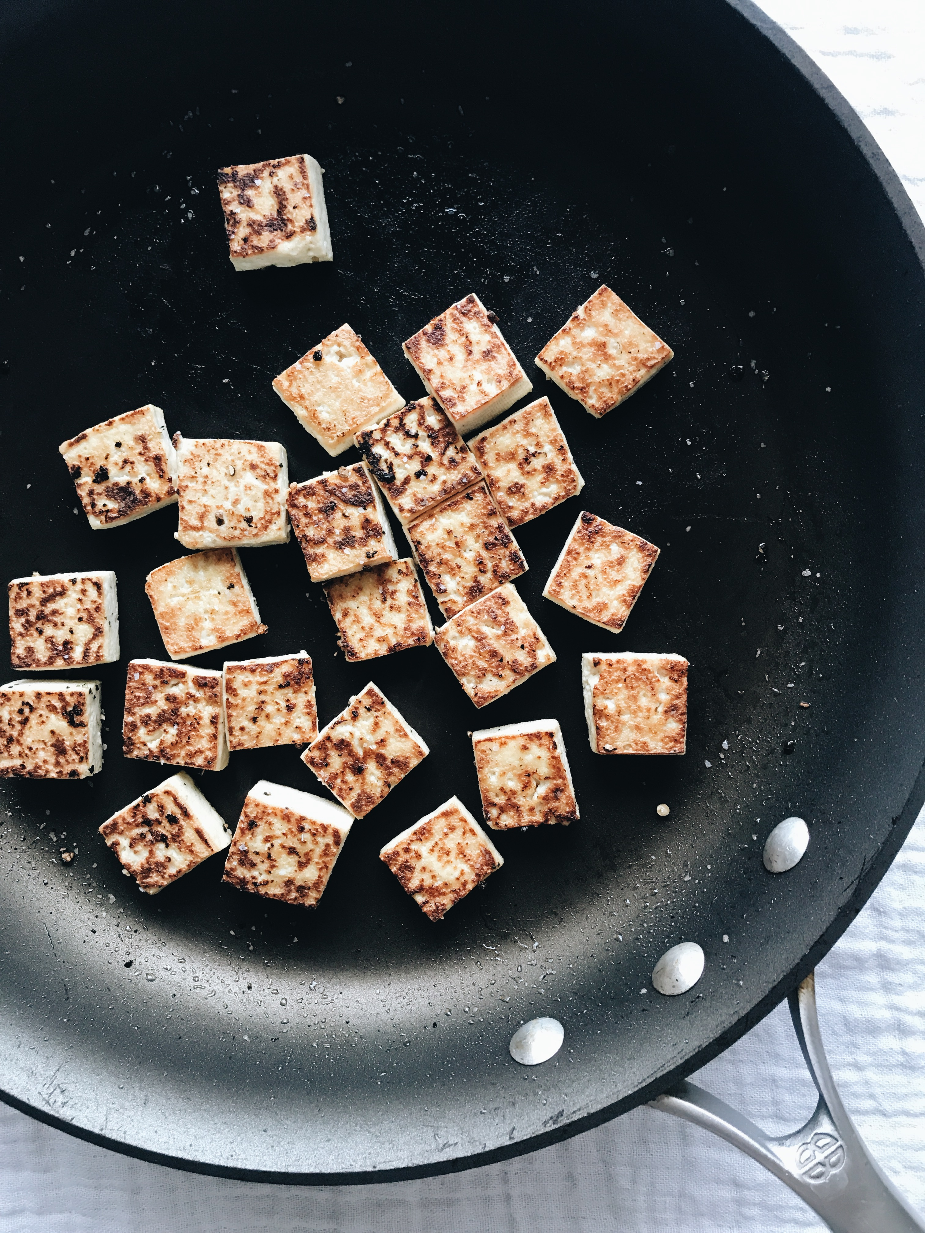Somen Noodle and Tofu Soup / Bev Cooks
