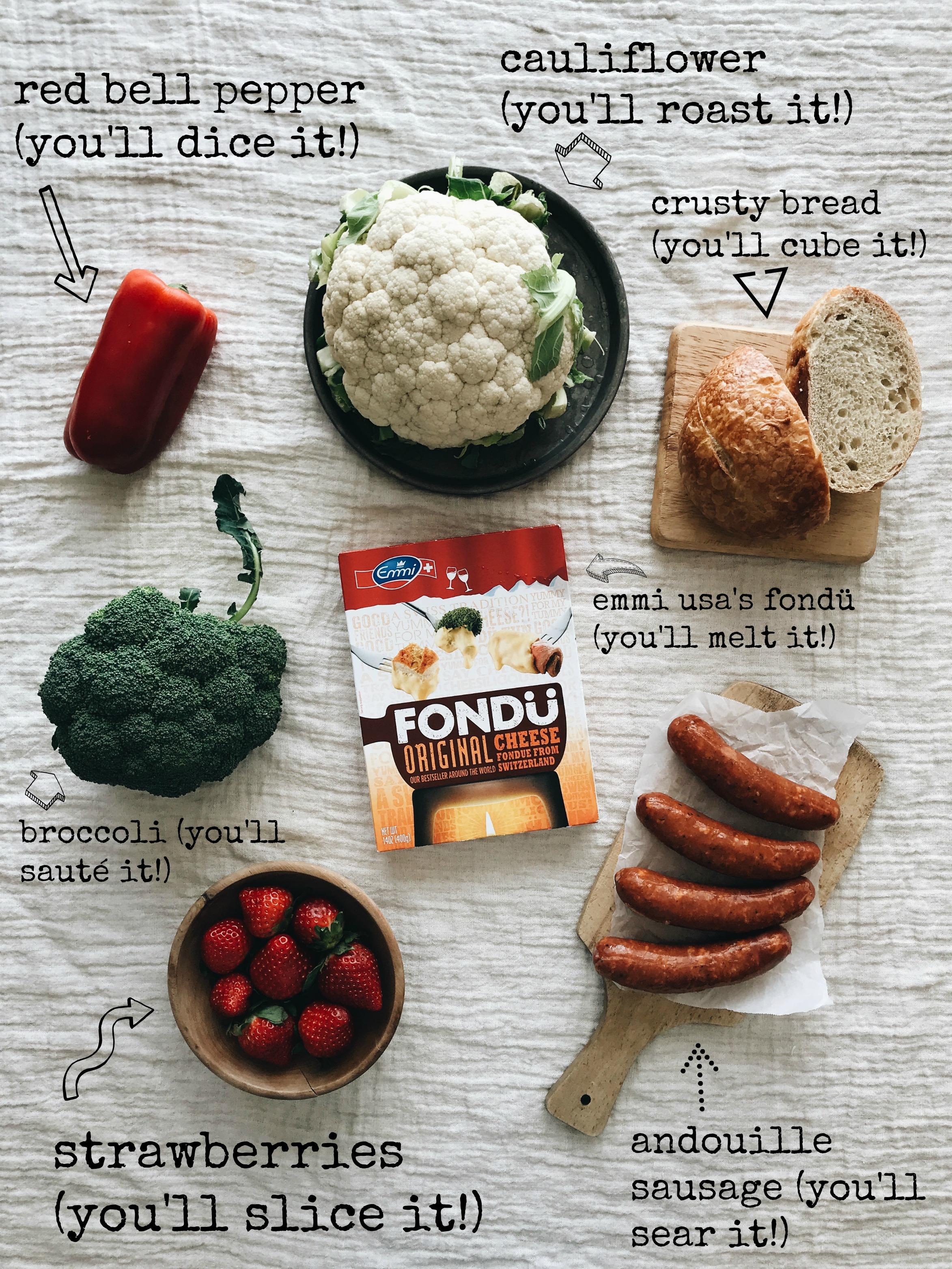 Easiest Fondue Night / Bev Cooks