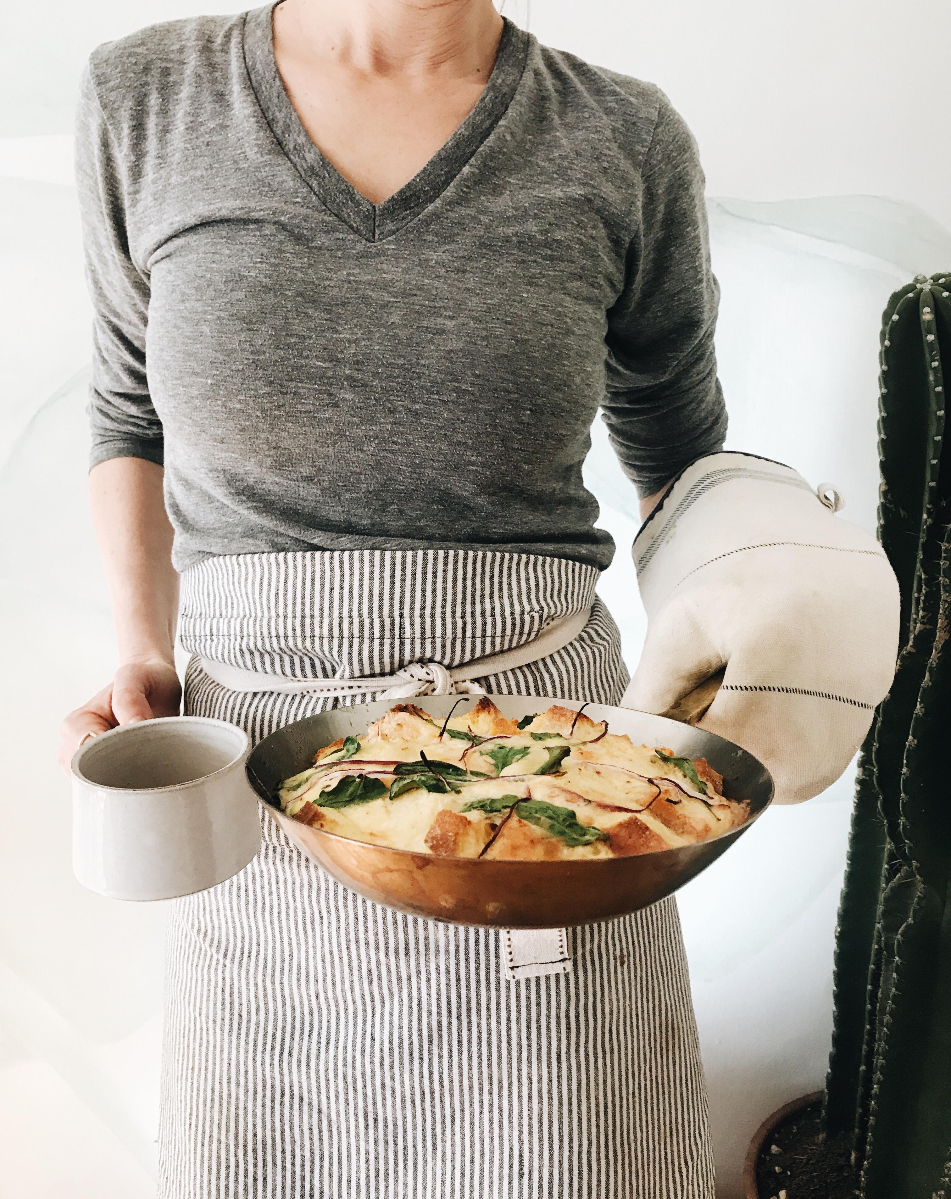 Lazy Lady Strata / Bev Cooks