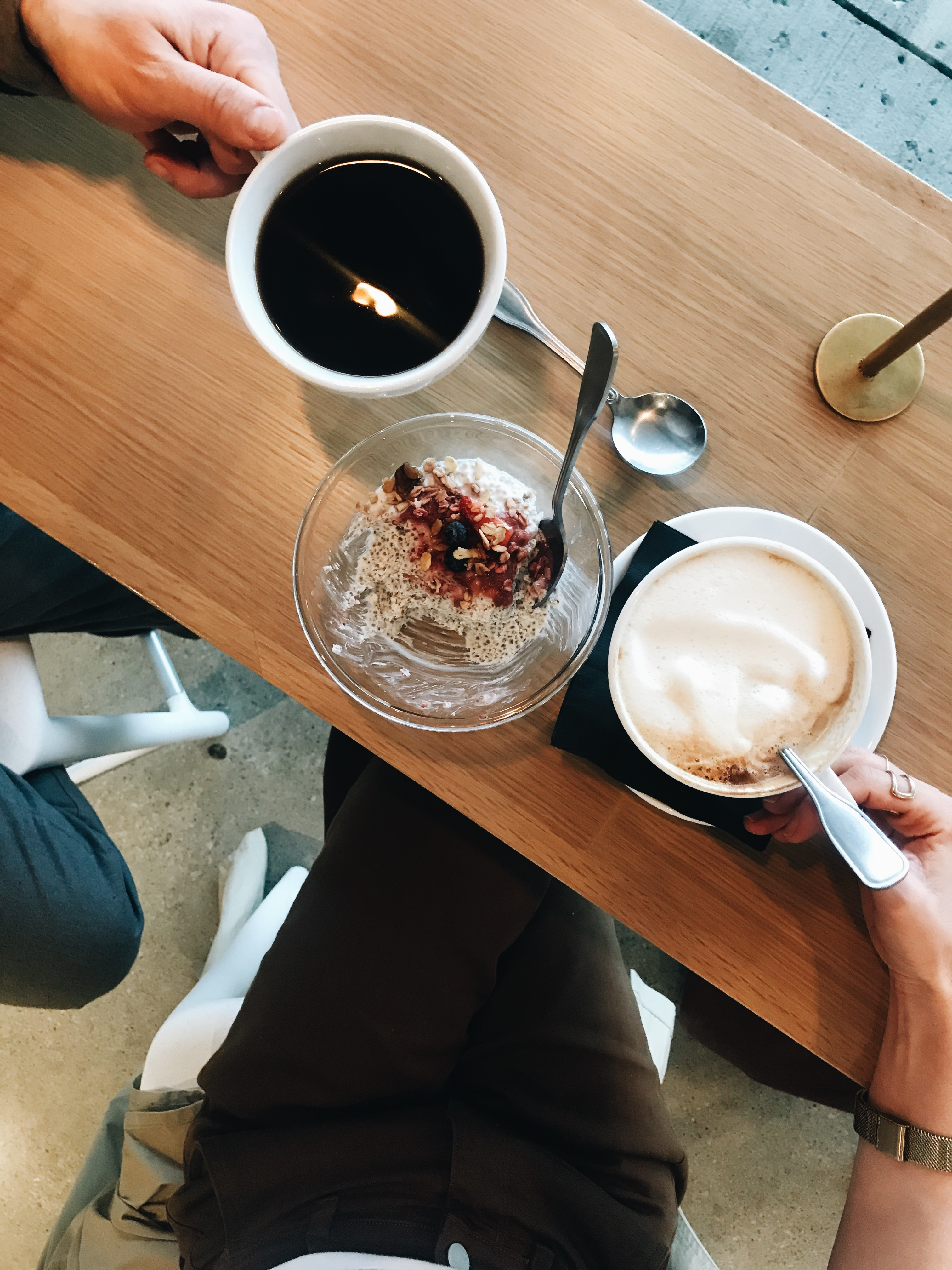 coffee date with husband
