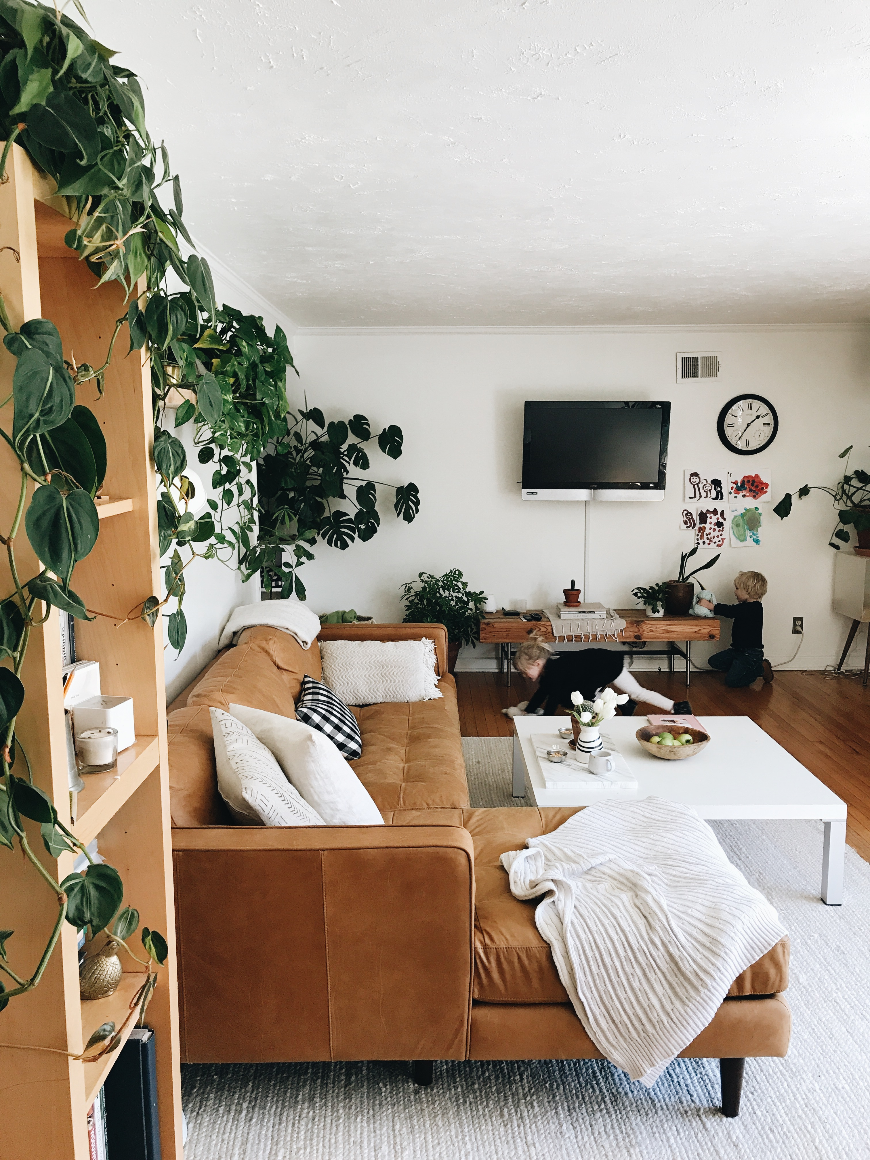 Article Timber Leather Sofa Review Baci Living Room