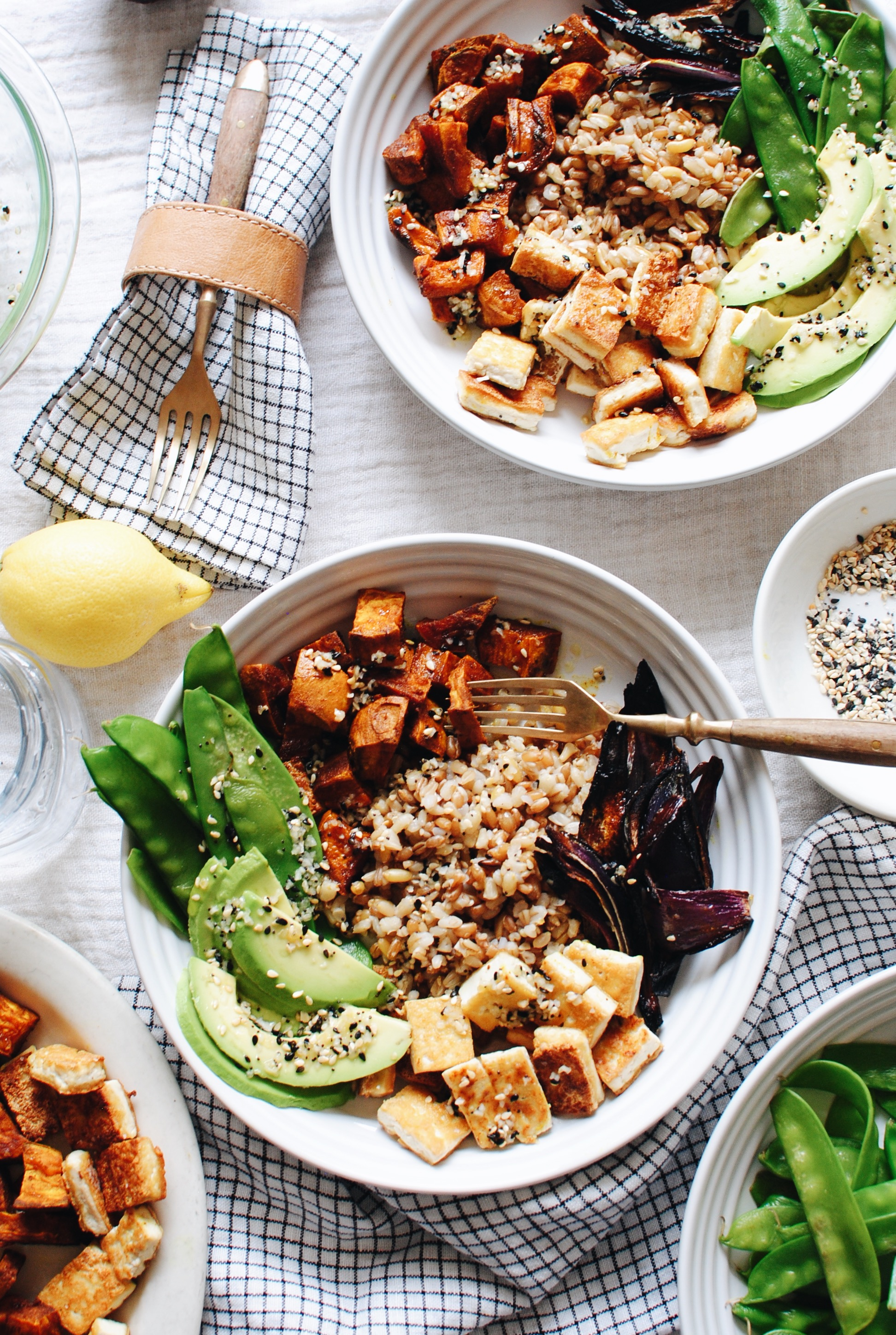 California Grain Bowl / Bev Cooks