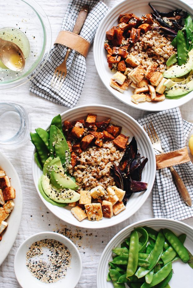 California Grain Bowl / Bev Cooks