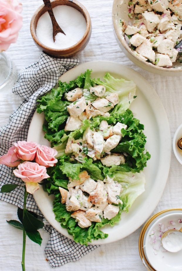 Classic Chicken Salad / Bev Cooks