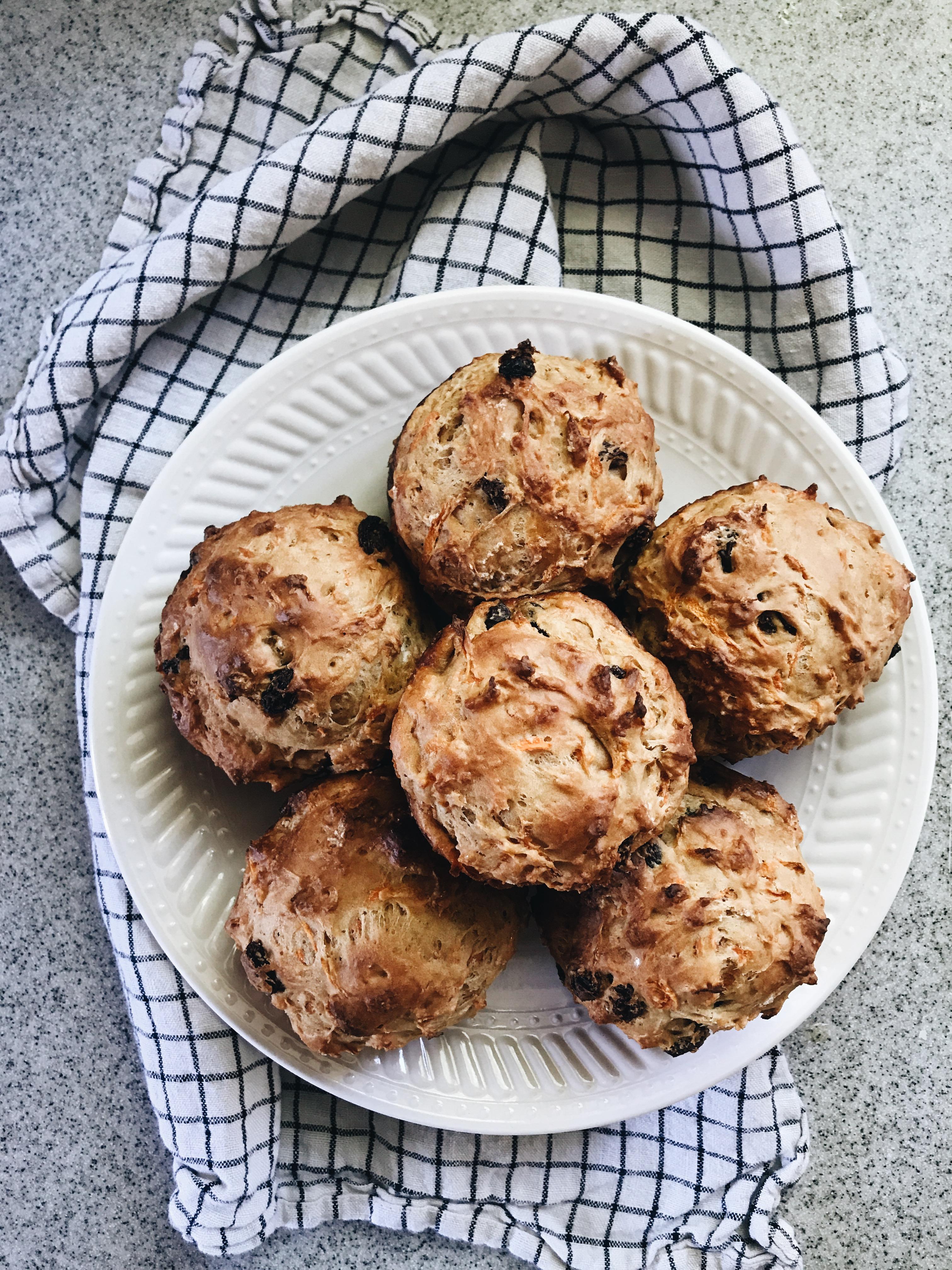 Anytime Yogurt Carrot Muffins / Bev Cooks