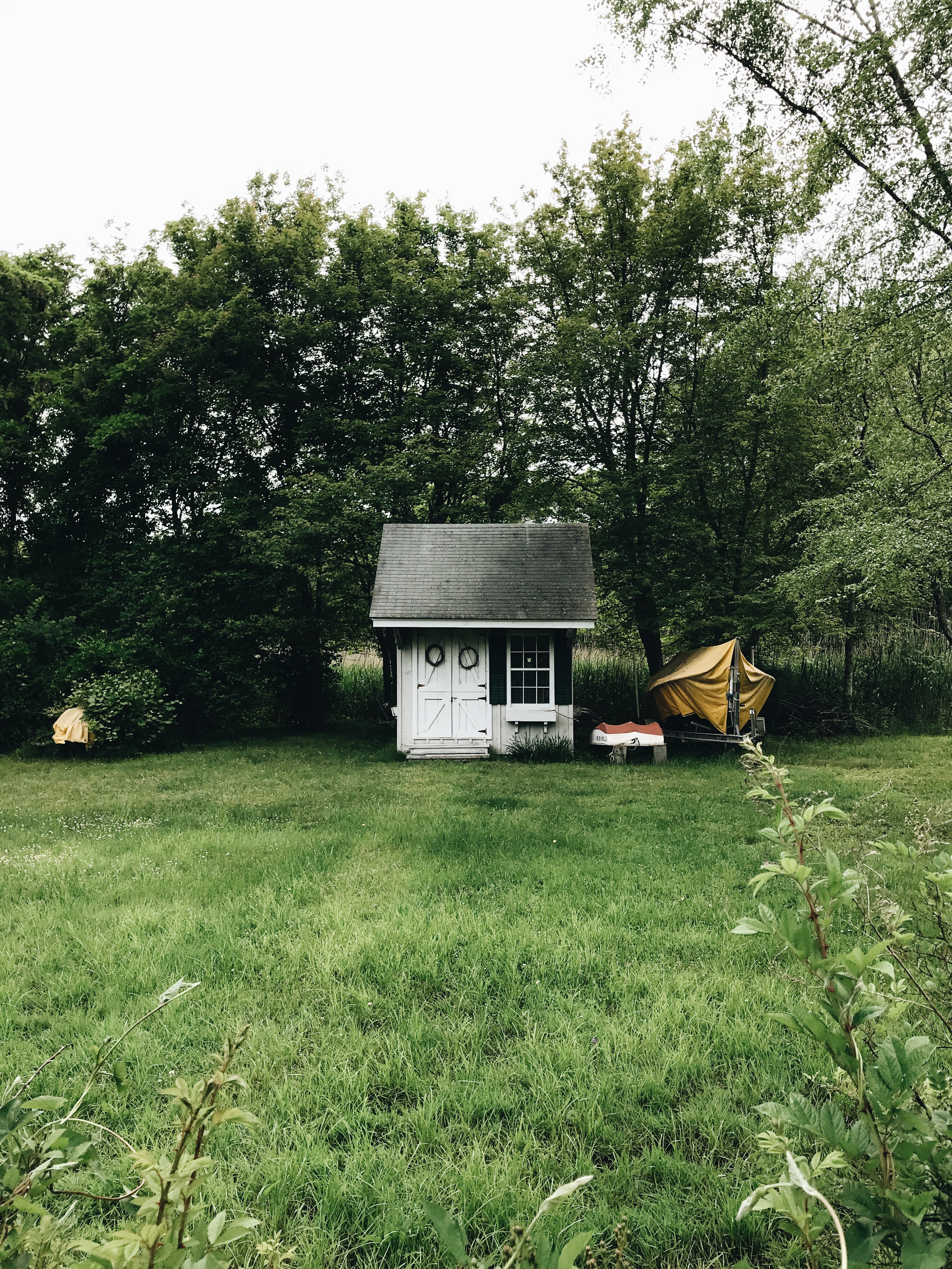 tiny shed in Lord's Point, CT