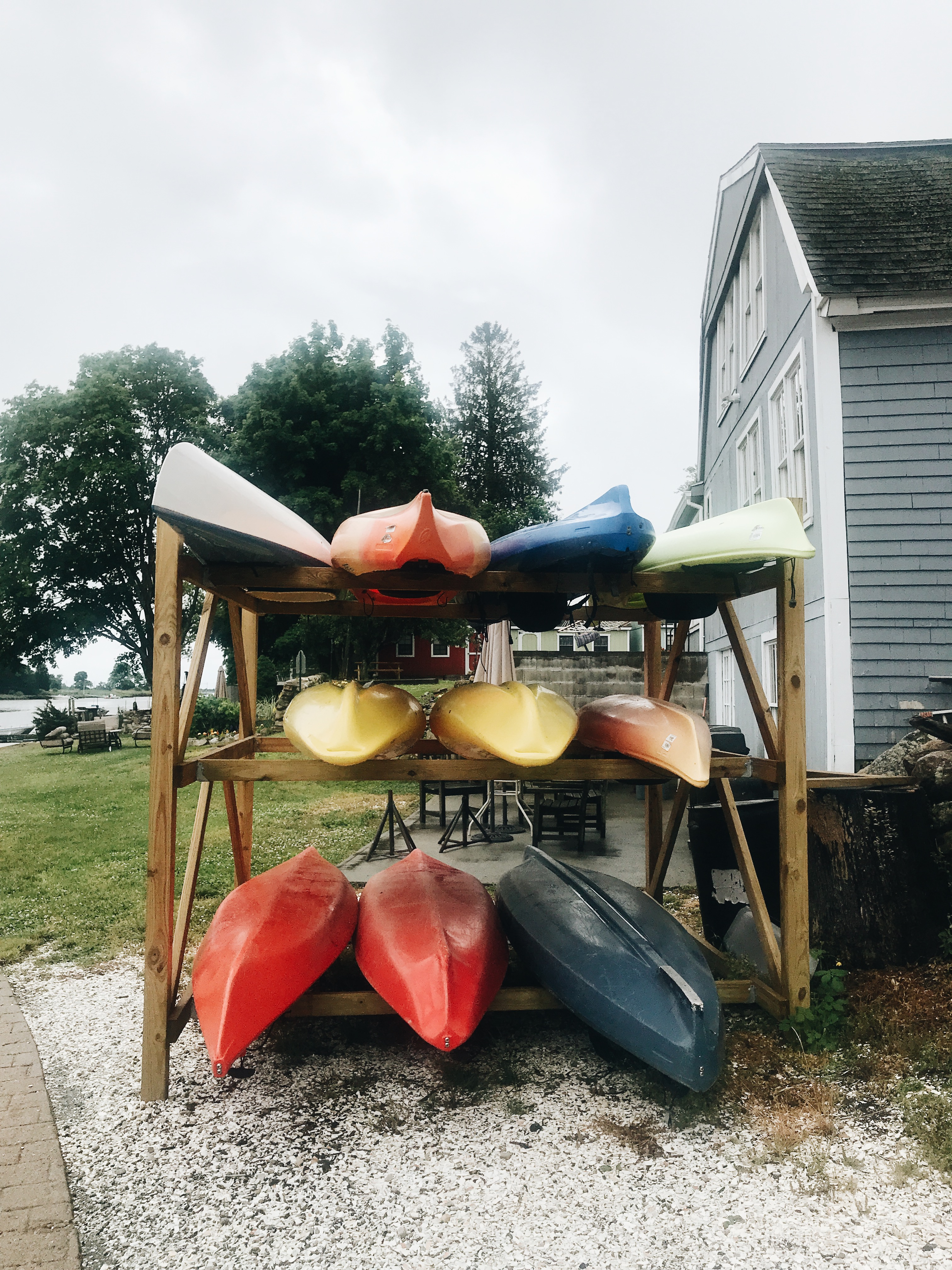 canoes in New England