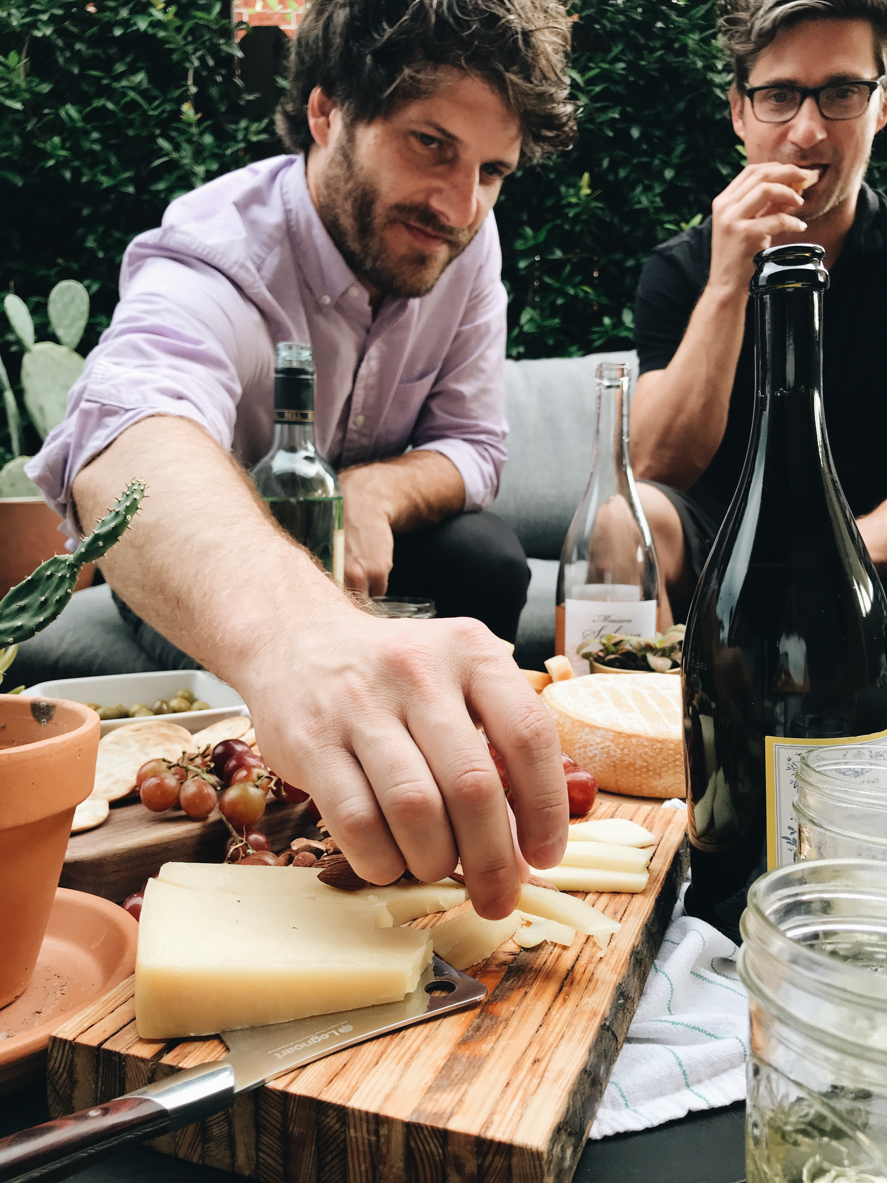 Cheese and Wine Pairings! Yes, There's Rosé. / Bev Cooks