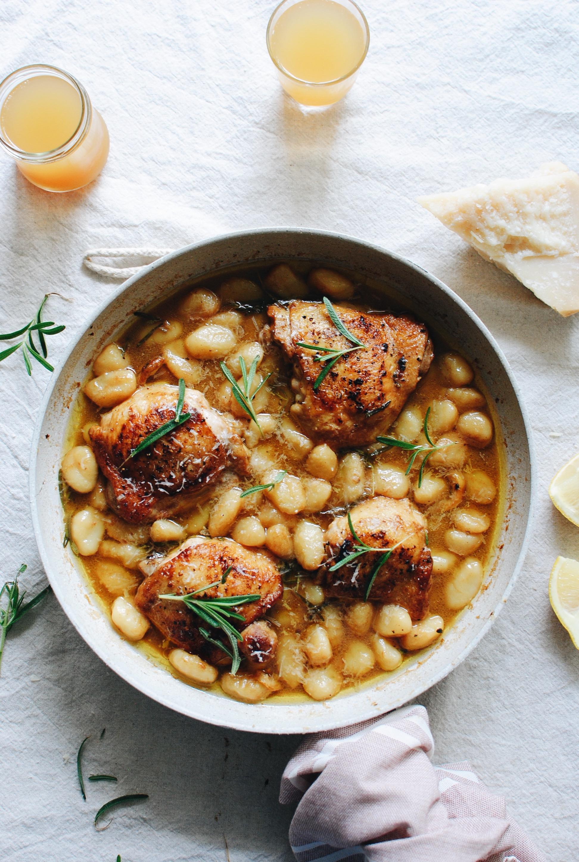 Rosemary Chicken Gnocchi / Bev Cooks