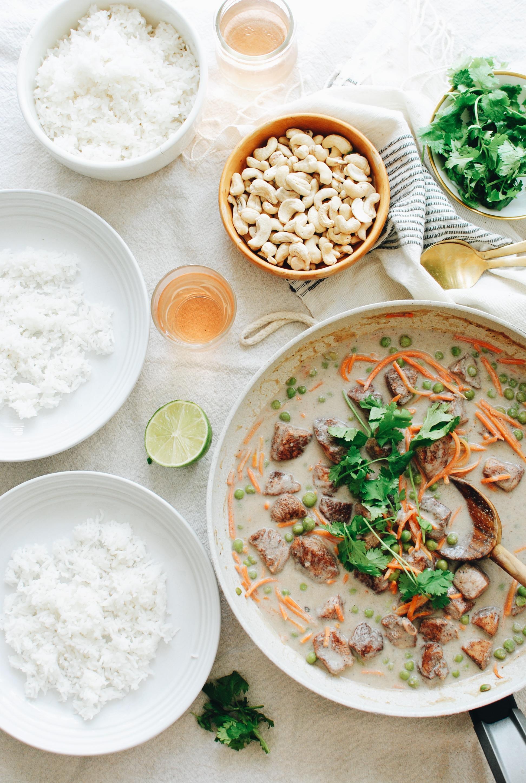 Dairy-Free Indian Cashew Chicken / Bev Cooks