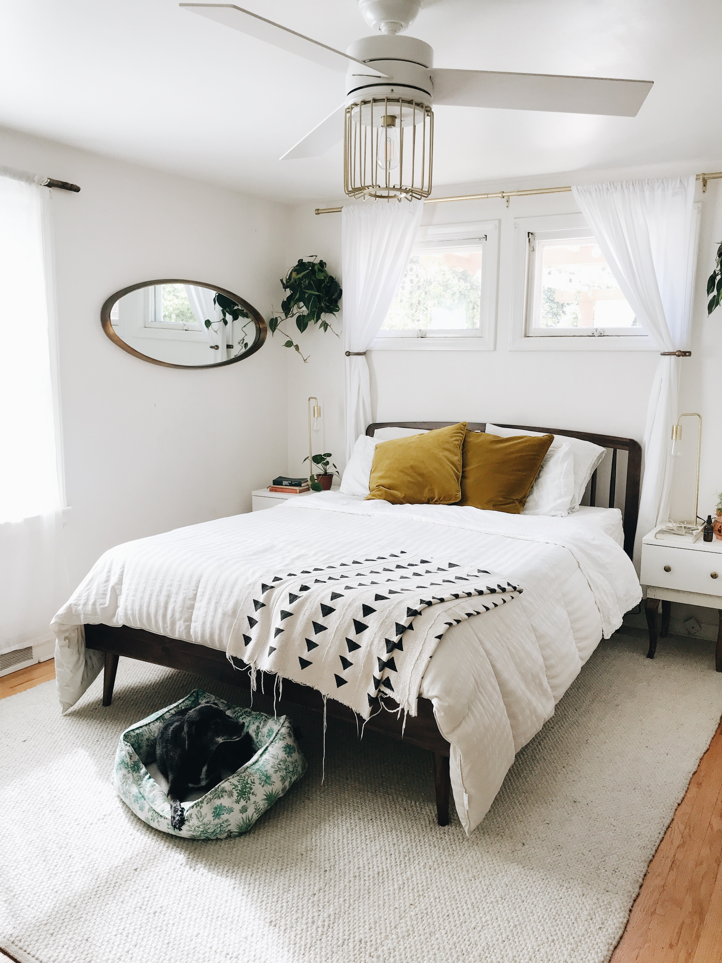 Bedroom Refresh with Article / Bev Cooks