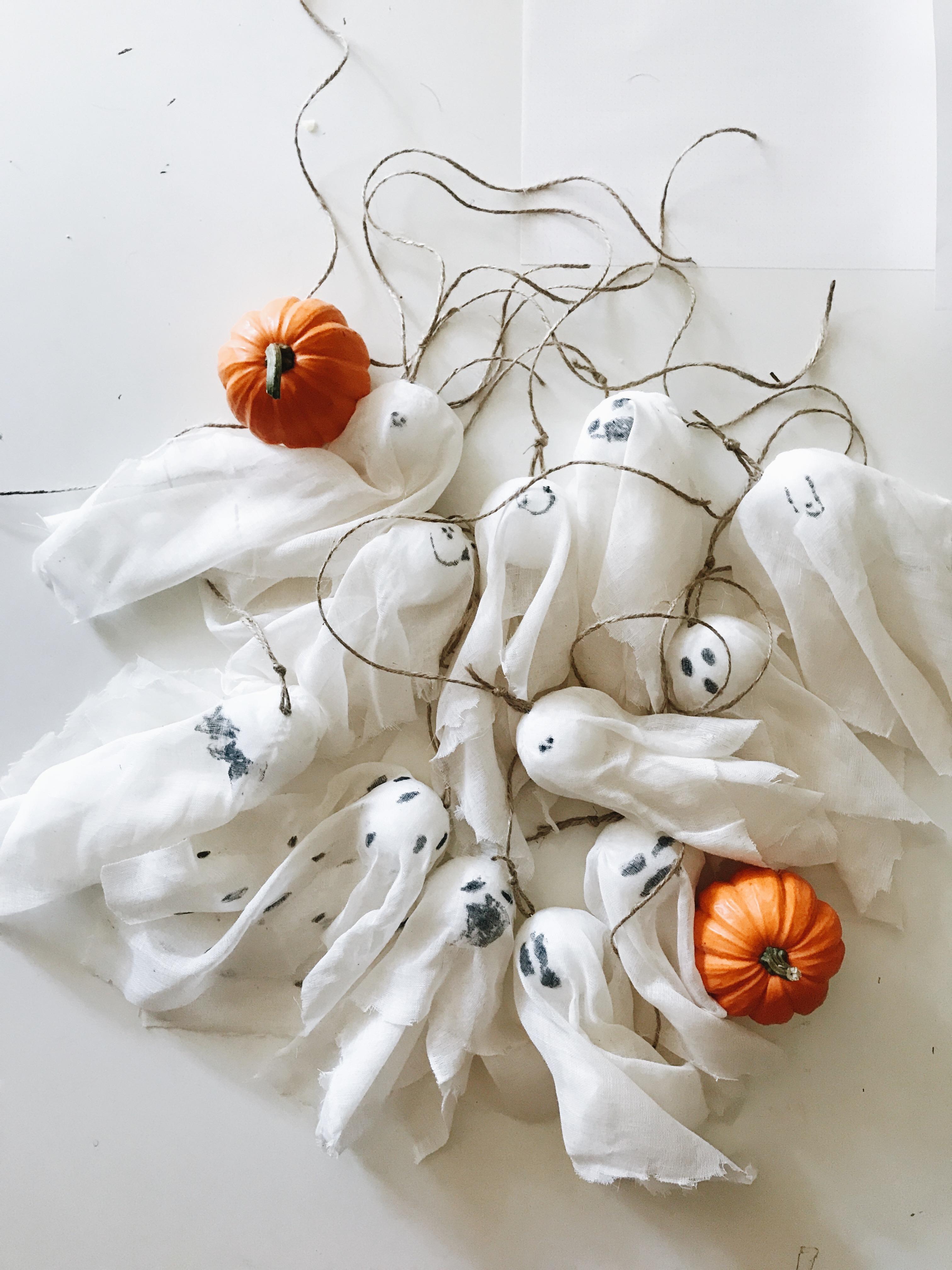 mini tree ghosts
