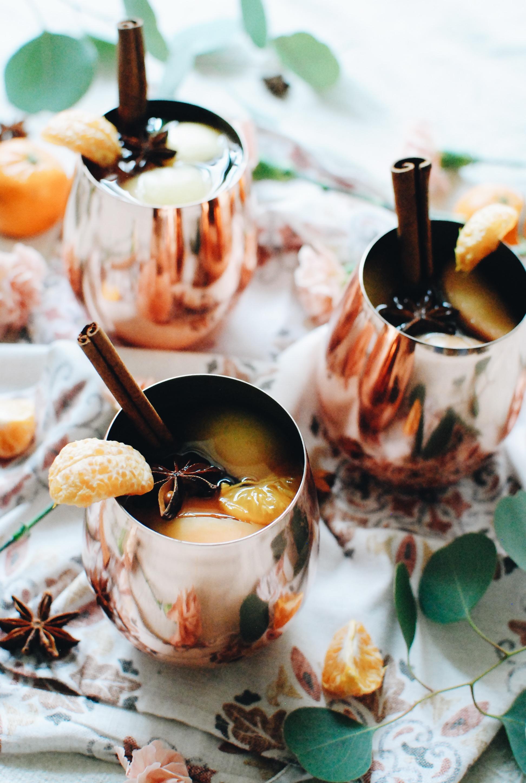 Mulled Rosé Wine / Bev Cooks