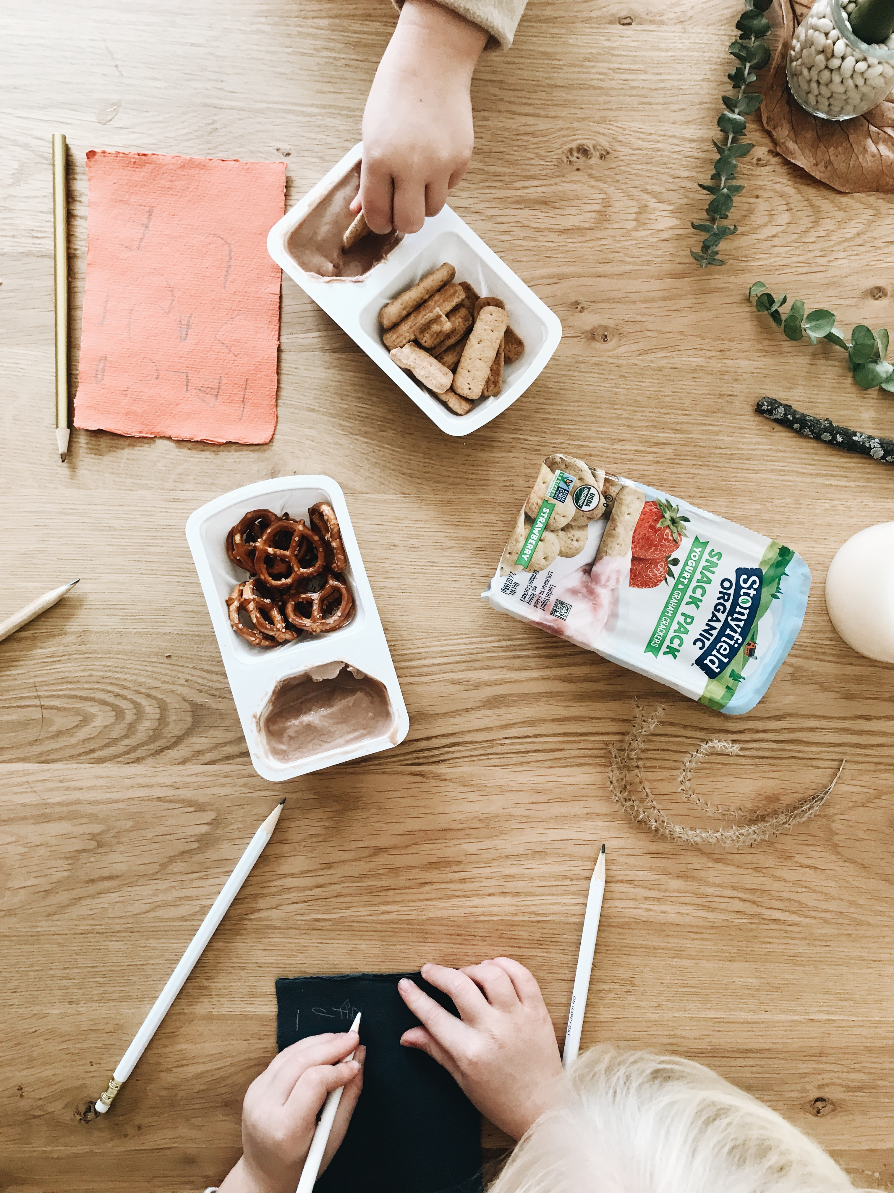 Stonyfield's Organic Snack Packs / Bev Cooks