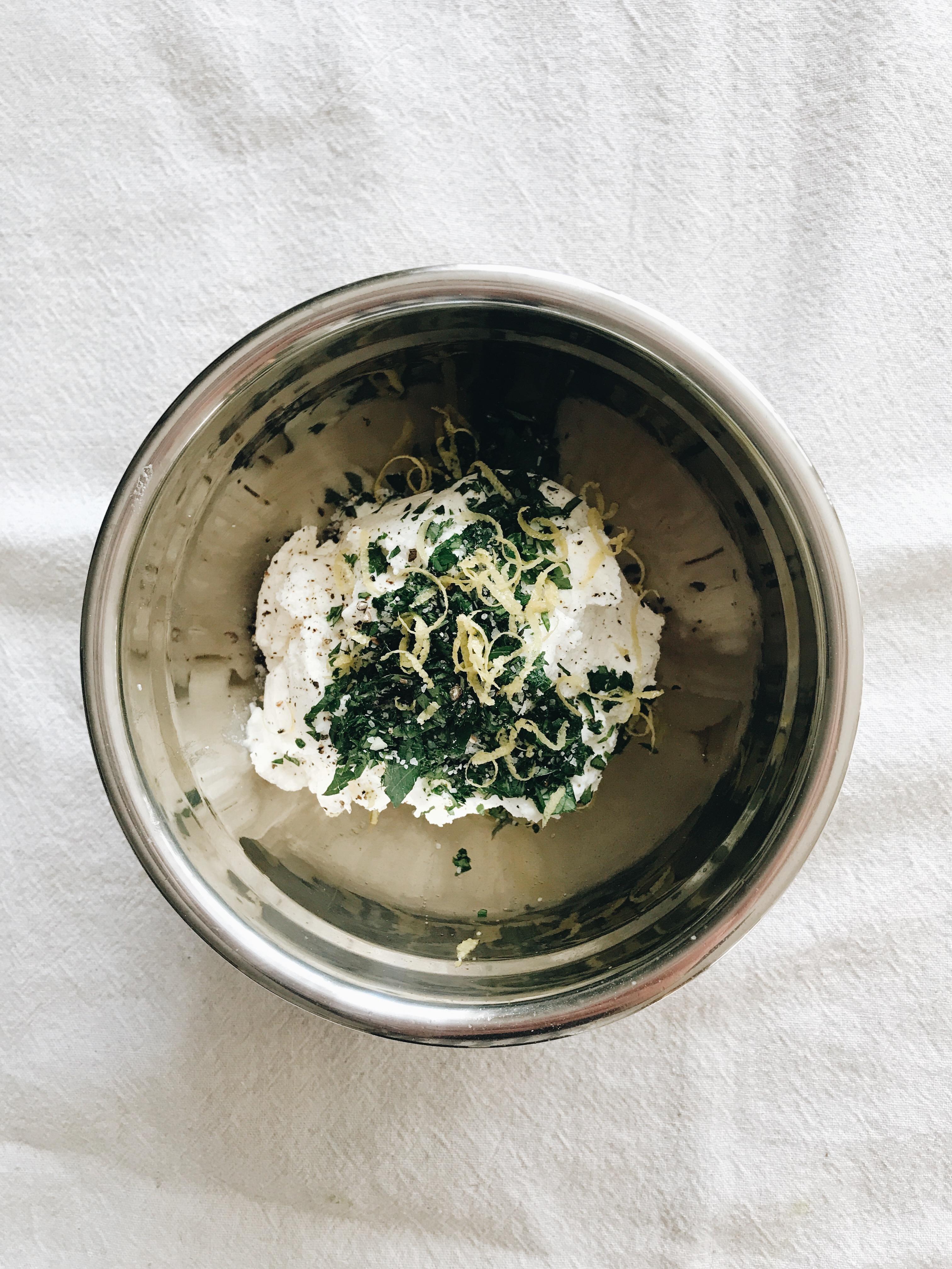 Skillet Gnocchi Lasagna / Bev Cooks