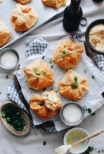 Buffalo Chicken Squares / Bev Cooks