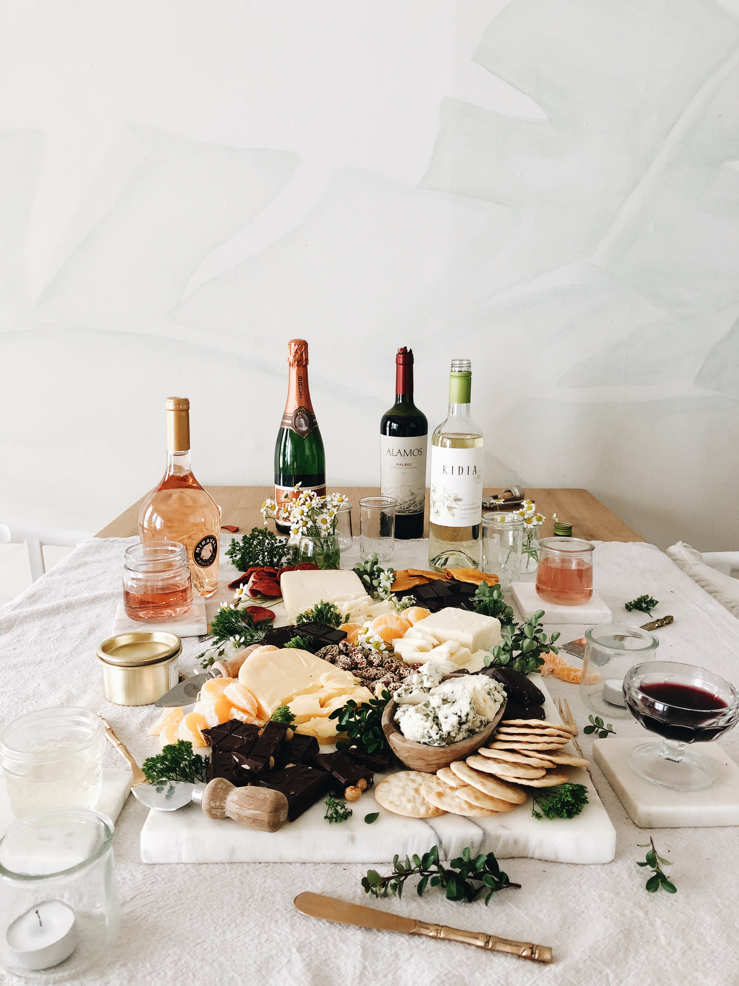 Chocolate, Cheese and Wine - Oh My! / Bev Cooks