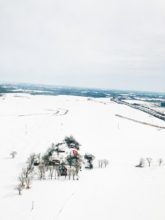 snow from the sky
