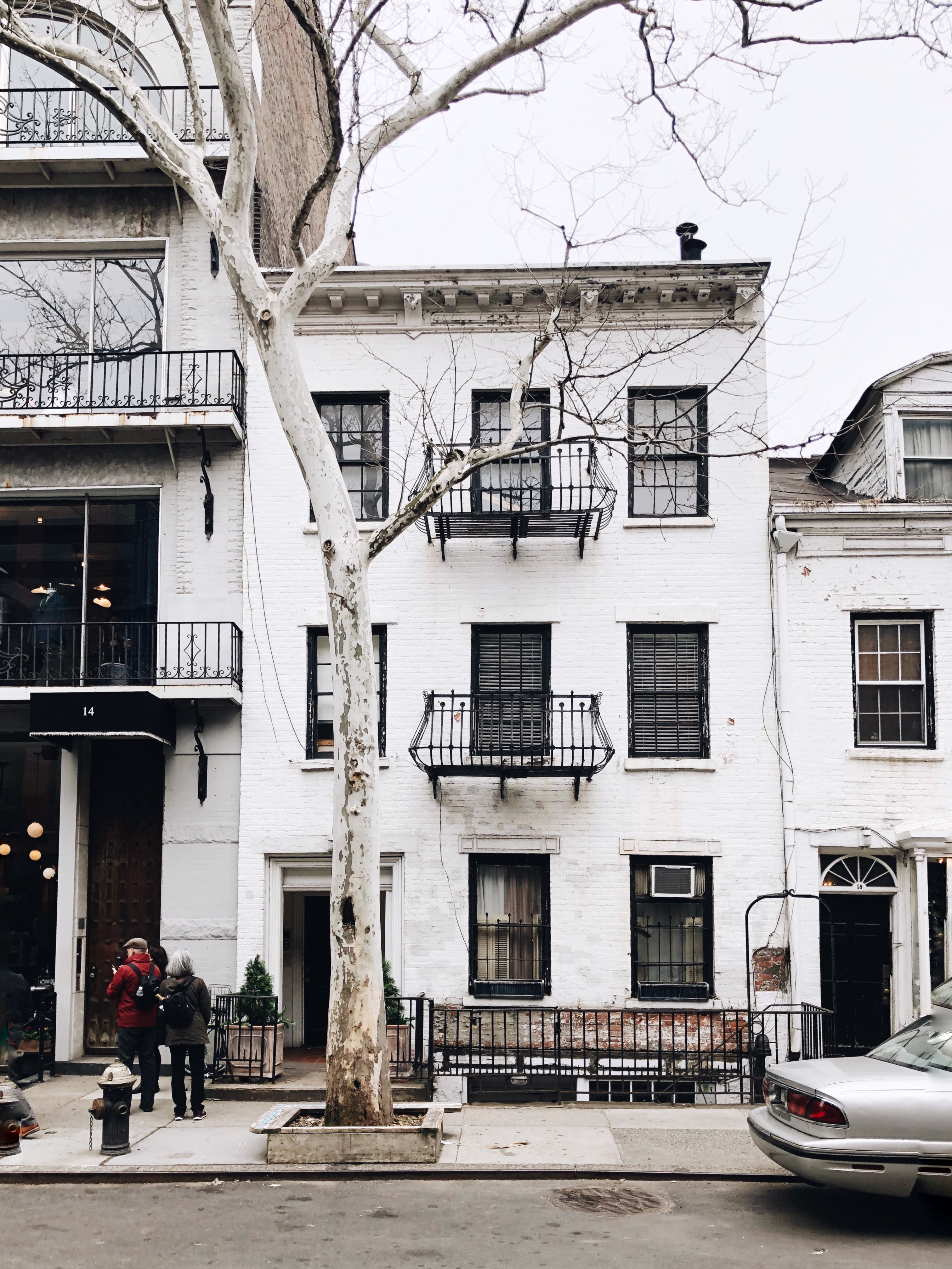 white building in nyc