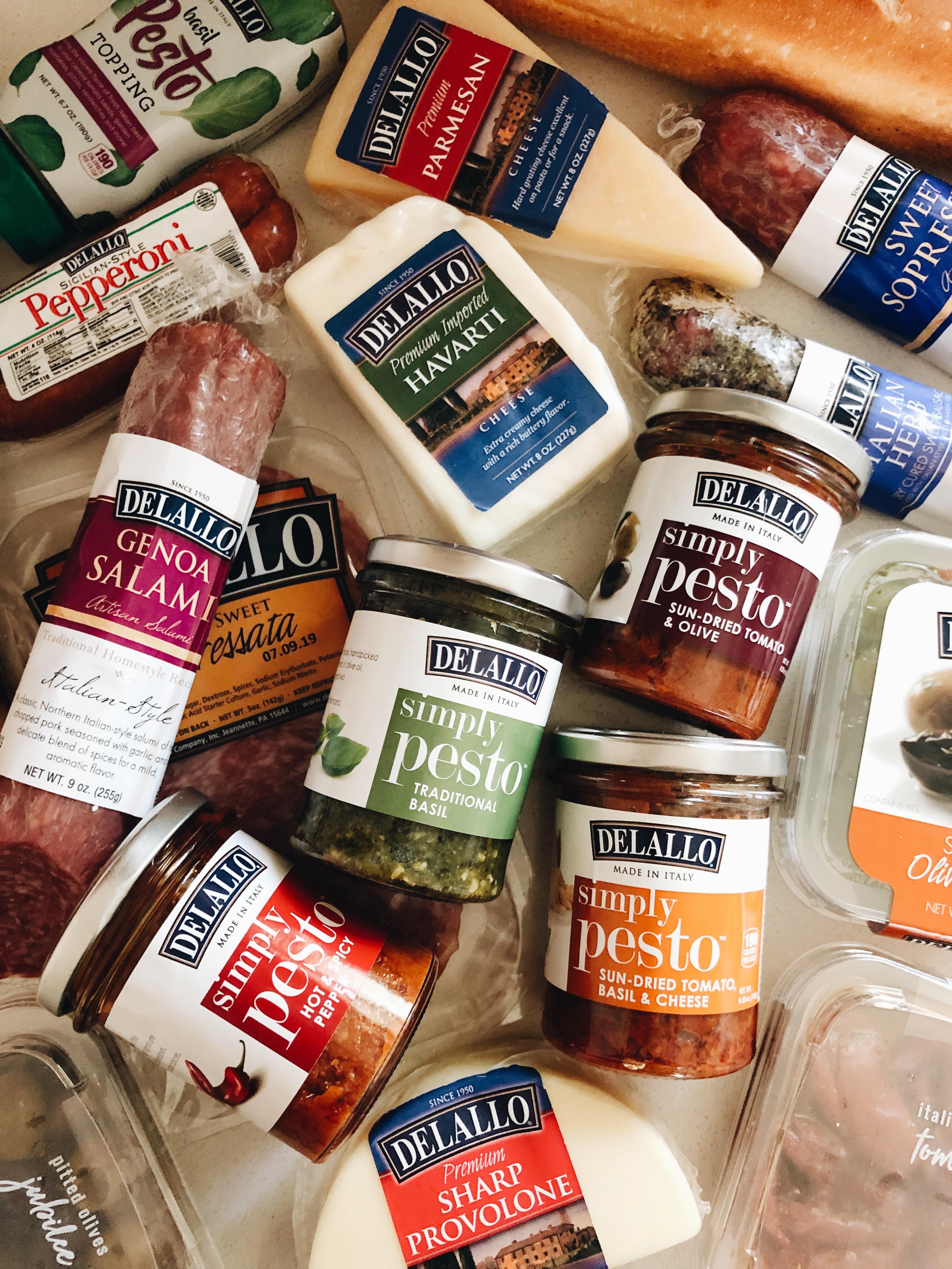 Pesto Board with DeLallo! / Bev Cooks