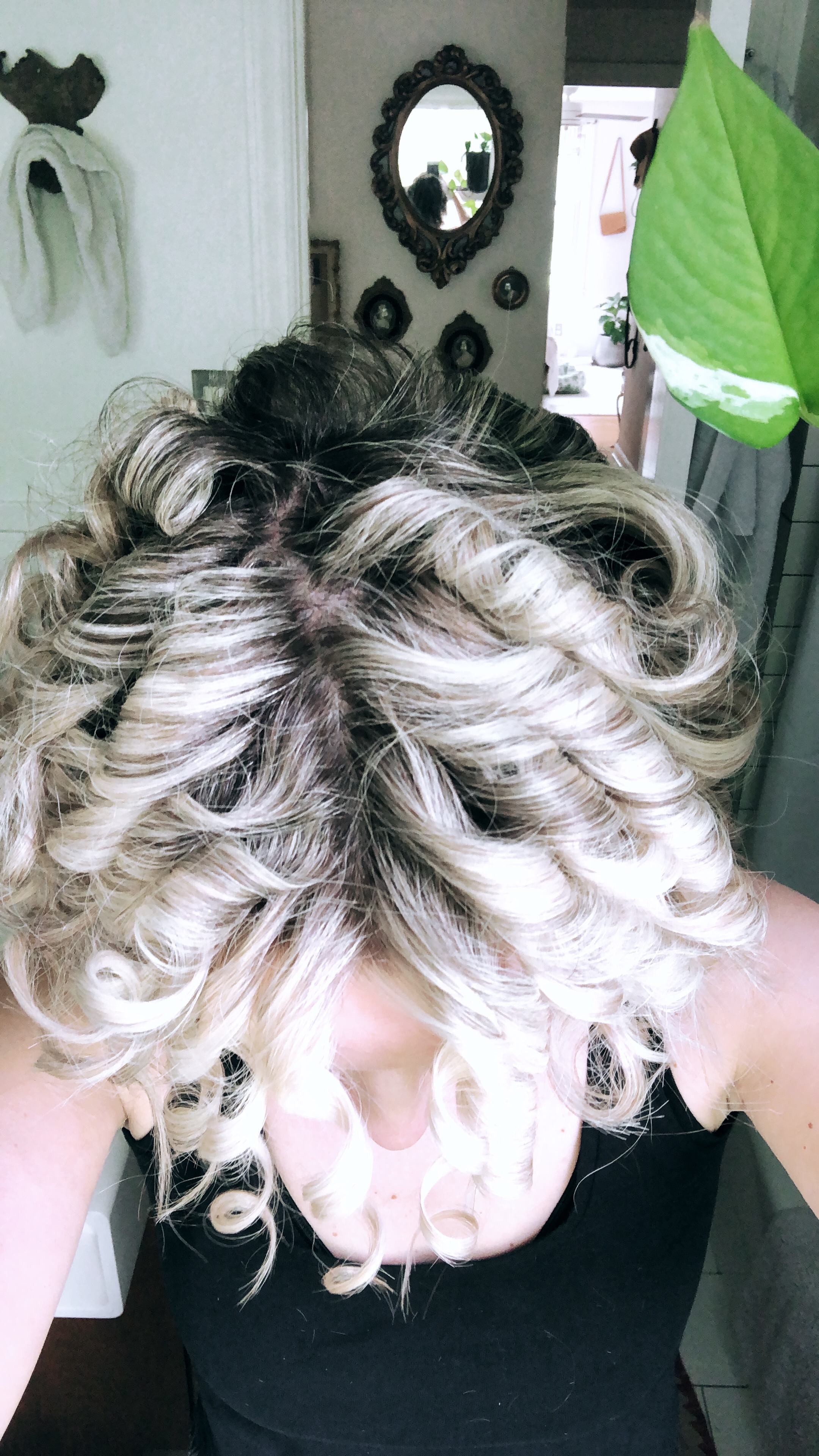 How I Get My Tight Curls. / Bev Cooks