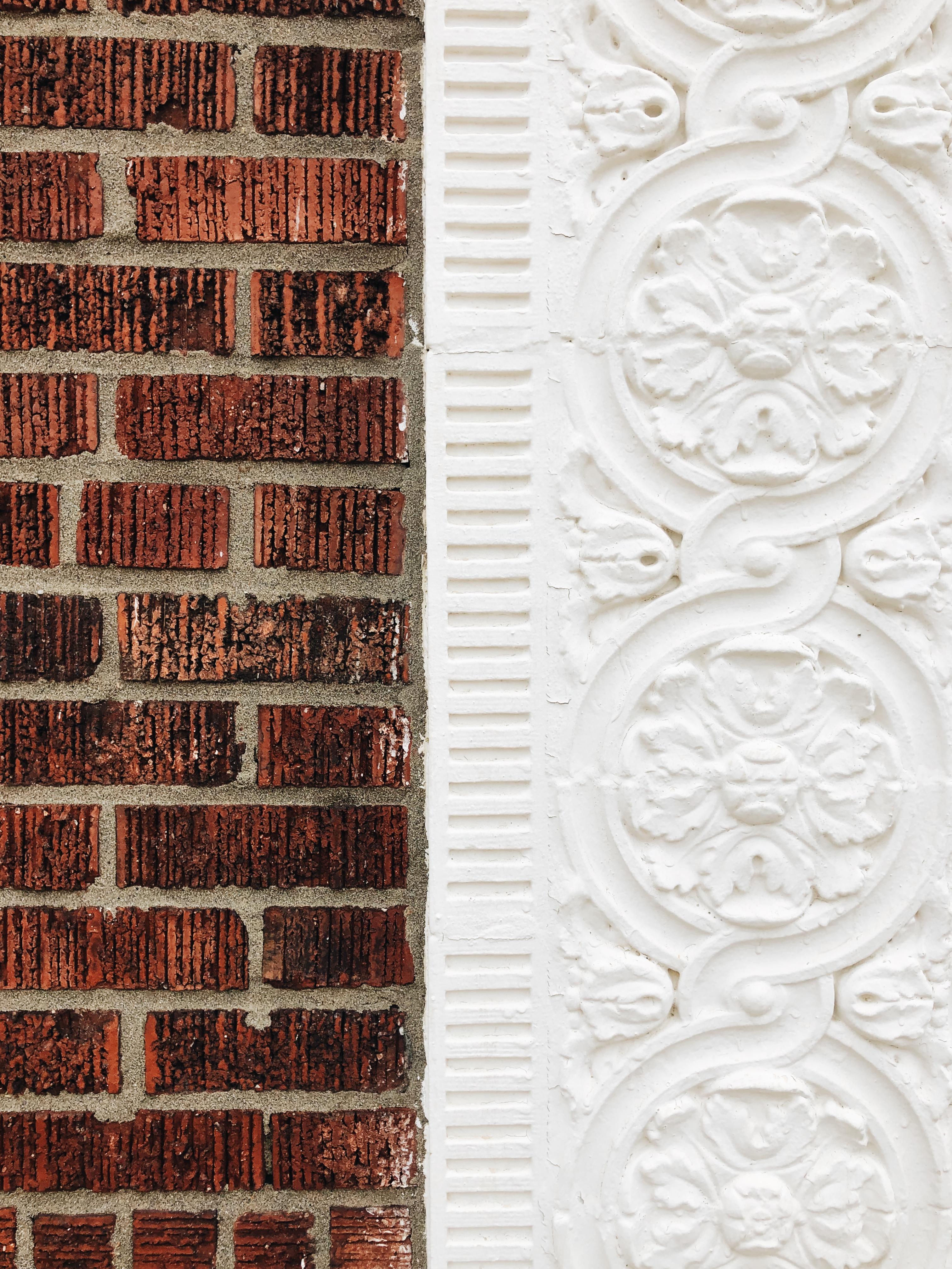 brick vs. white