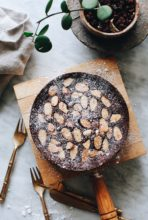 Mini Chocolate Mascarpone Cake / Bev Cooks