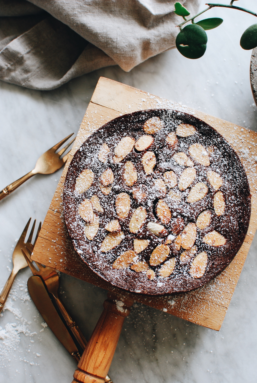 Mini Chocolate Mascarpone Cake / Bev Cooks