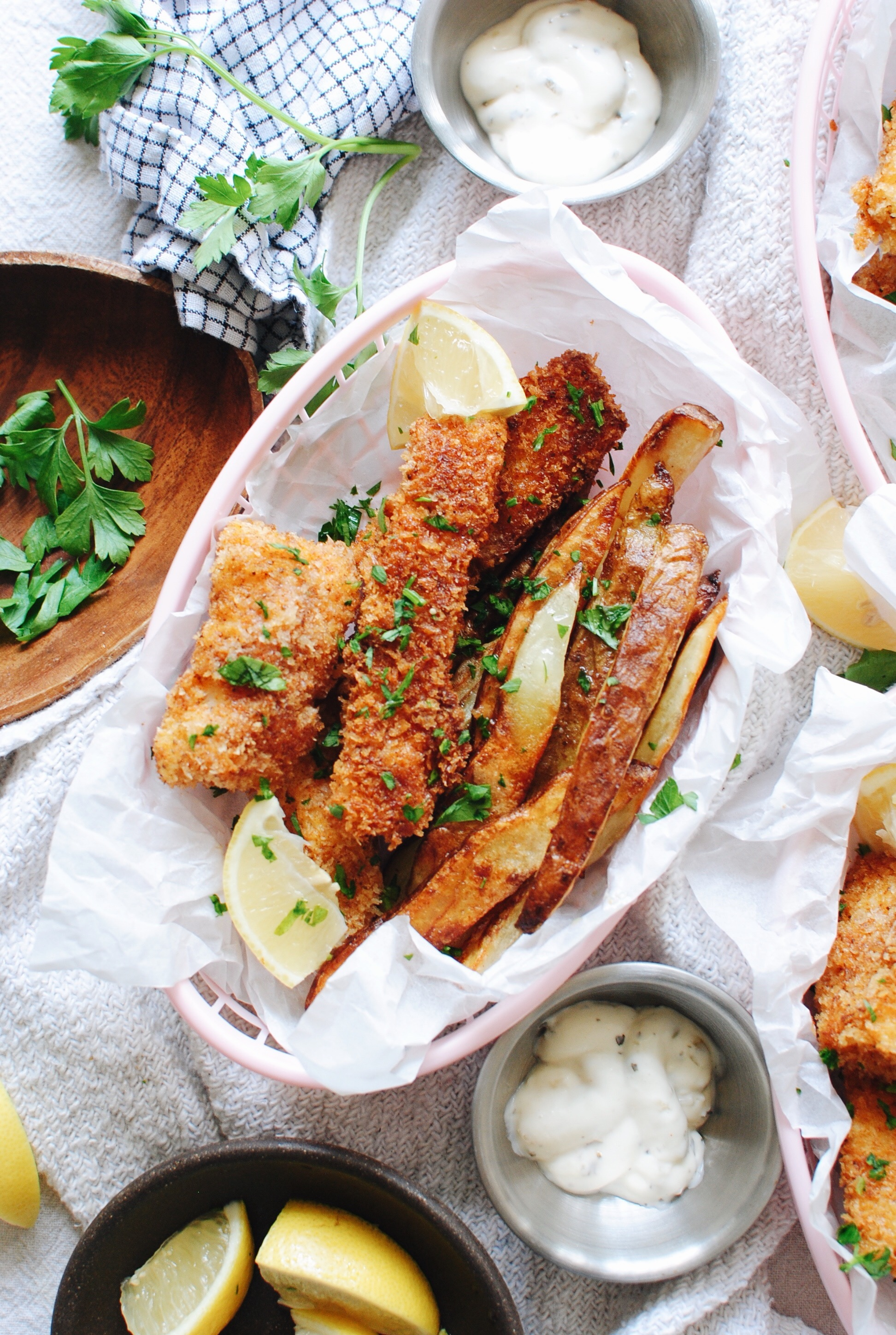 Fish and Chips / Bev Cooks