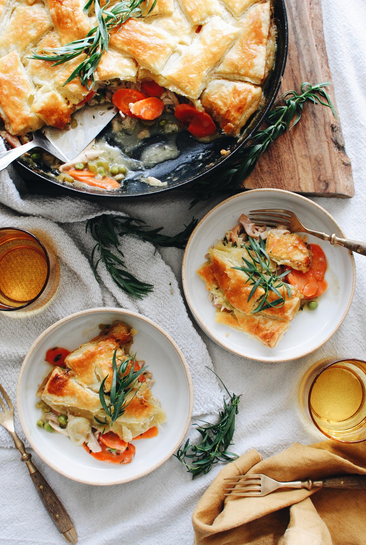French-Inspired Chicken Pot Pie / Bev Cooks